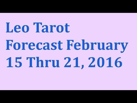 Leo Tarot Forecast February 15 Thru 21, 2016