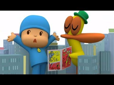 Мультики - Покойо на русском - Все серии подряд - Новый сезон - Сборник мультфильмов для детей (видео)