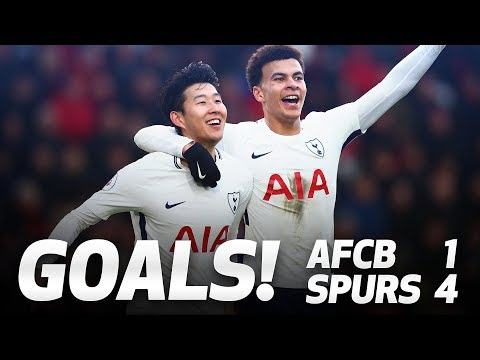 Video: GOALS | AFC BOURNEMOUTH 1-4 SPURS