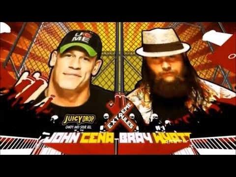 WWE Extreme Rules 2014 - John Cena vs Bray Wyatt - Steel Cage Match HD!