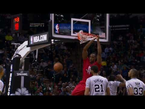 Casspi finds Dwight Howard for the alley-oop vs. Spurs