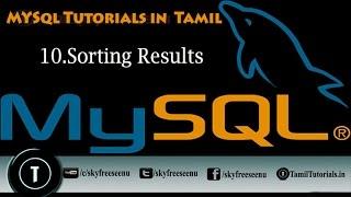 MYSQL Tutorials In Tamil 10 Sorting Results