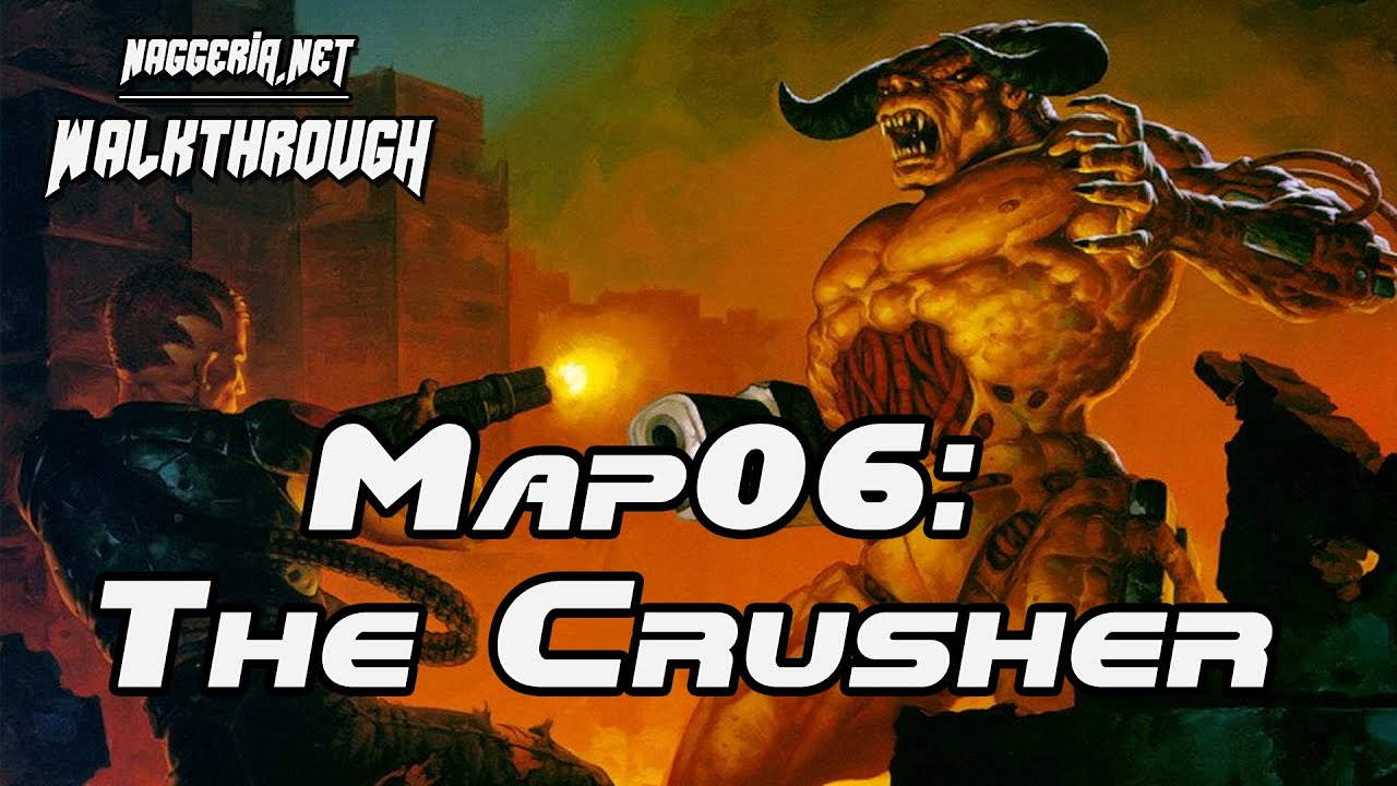 "[Doom 2 Komplettlösung] Map06: ""The Crusher"" Walkthrough (Ultra-Violence)"