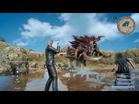 Mise à jour de décembre - Changement de personnages de Final Fantasy XV