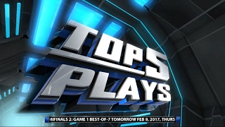 Top 5 Plays of the Week - Feb. 8, 2017 | PBA Philippine Cup 2016 - 2017