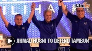 Former minister Ahmad Husni to defend Tambun seat