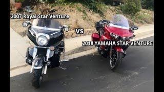 1. 2018 Yamaha Star Venture vs Personalized 2007 Royal Star Venture