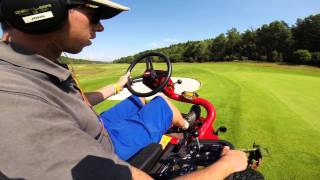 Losby Norway  City pictures : Losby Golf Club, Toro 3100D Semi Rough 1080p HD