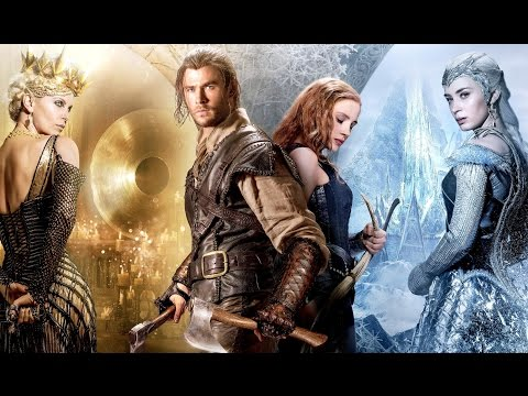 Las Crónicas de Blancanieves: El Cazador y la Reina del Hielo (Trailer español) (видео)