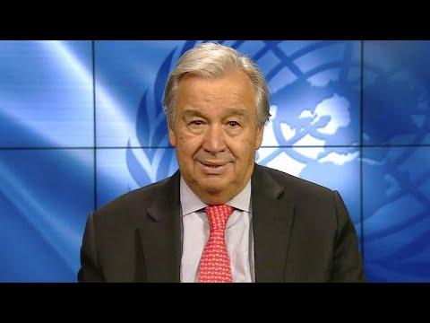 Αντόνιο Γκουτέρες: «Πρέπει να επισκευάσουμε τον πλανήτη»…