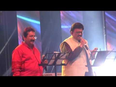 SPB 50 Grand Musical Tour in Toronto - Mano and S. P. B. sing Eduthu Naan Vidava