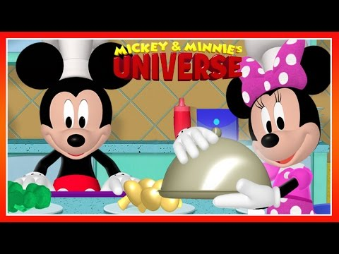 Mickey & Minnie's Universe - Mickey Mouse Clubhouse Cooking Game - Disney Junior Games For Kids