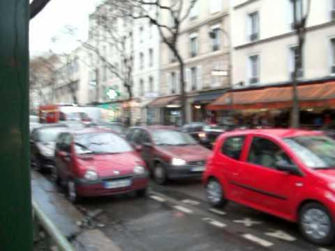 bspp ar rue des pyrénées rue d'avron paris 20 Filmé en 2010