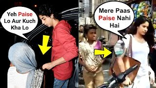 Video What Bollywood Star Kids Do When BEGGARS Ask For Money - Aryan Khan, Jhanvi Kapoor, Sara Ali Khan MP3, 3GP, MP4, WEBM, AVI, FLV September 2018