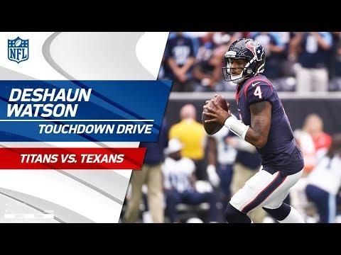 Video: Deshaun Watson Makes Big Plays on TD Drive! | Titans vs. Texans | NFL Wk 4 Highlights