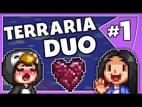 2 Player Terraria // Pedguin & Ada Duo // Episode 1