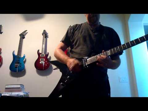 Another test drive on my ESP LTD V50!