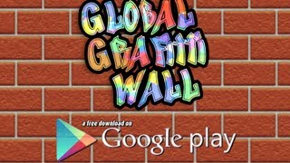 Global Graffiti Wall YouTube video