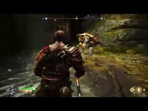 God Of War PS4, OMG Great Sword Knight Fight, Free The Dragon 2-3 (First Dragon)