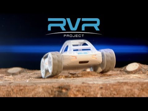 Introducing, Sphero, RVR, robot car, Kickstarter