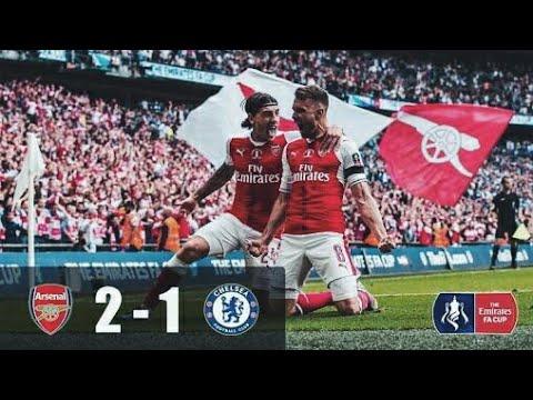 Arsenal vs Chelsea 2-1 All Goals & Highlights 24/01/2018