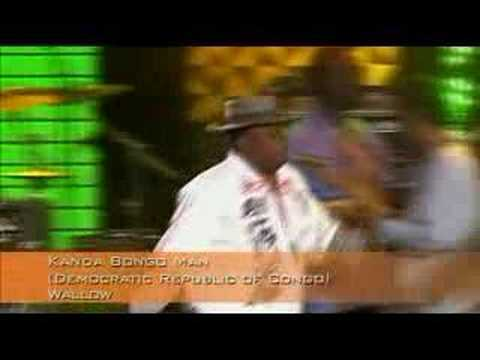 Kanda Bongo Man -Africa Calling ( Live 8) UK