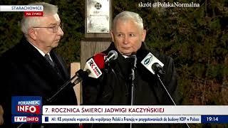 """Kaczyński: """"Czynimy wszystko, by ten nowy zamach na naszą suwerenność został odparty. PiS przywróci Polsce wolność """""""