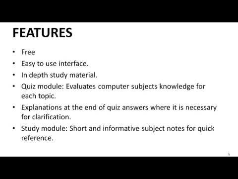 Video of Computer Science Study Kit