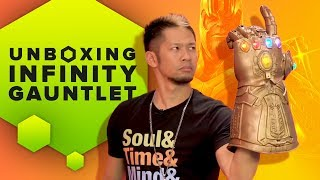 Video Unboxing Hasbro's Marvel Legends Infinity Gauntlet and Review MP3, 3GP, MP4, WEBM, AVI, FLV September 2018