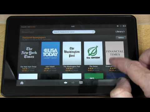 Amazon Kindle Fire Tablet Review & Unboxing - EEVblog #220