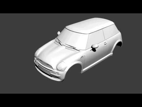 Mini cooper etape modelare