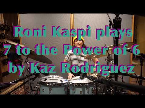 Roni Kaspi - 7 To The Power Of 6 By Kaz Rodriguez
