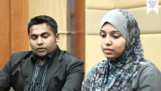 SEED 2011 EXCLUSIVE INTERVIEW SESSION - MR. FAISAL MOHAMED&MRS. NORHAYATI (HD)