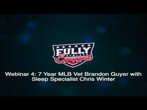 Sleep webinar with Sleep Specialist Chris Winter - Fully Equipped Athlete Webinar 4