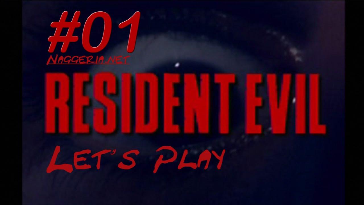 [Let's Play] Resident Evil – 01 – Das Herrenhaus (PS 1 / Chris)