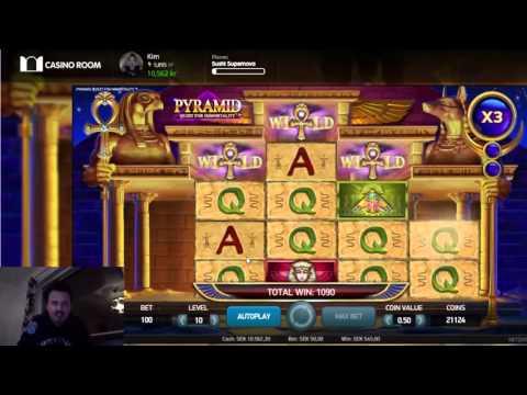 Super mega win on Pyramid - quest for immortality