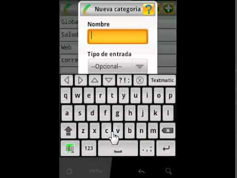 Video of Textmatic Free Keyboard