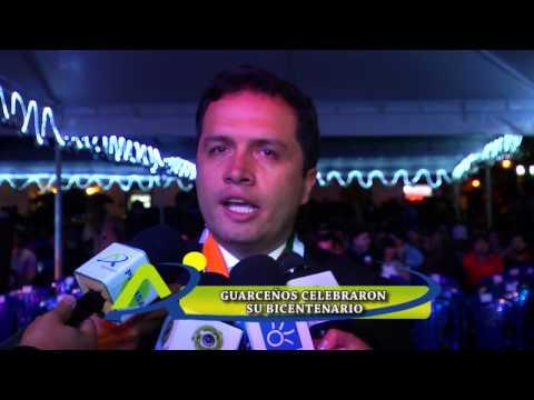Guarceños celebraron su Bicentenario