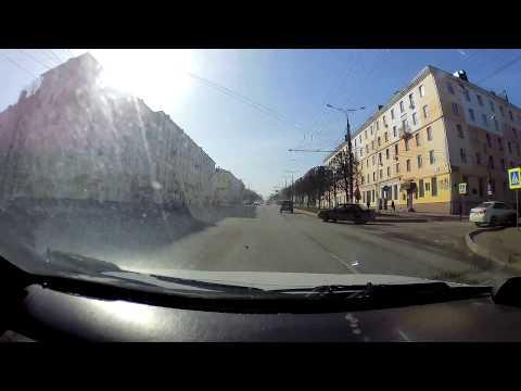 Разборки на дороге в Чебоксарах