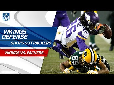 Video: Minnesota Shuts Out Green Bay, Vikings Get 1st Shutout Since 1993! | Wk 16 Player Highlights