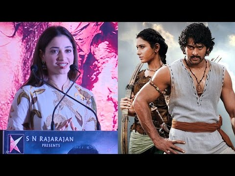 Tamannaah Superb Speech At Baahuba ..