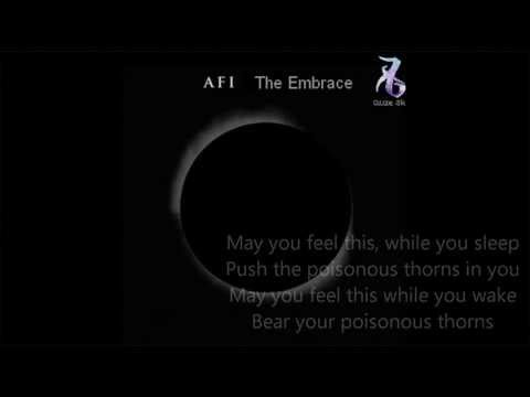 AFI – The Embrace Lyrics (The Mortal Instruments)