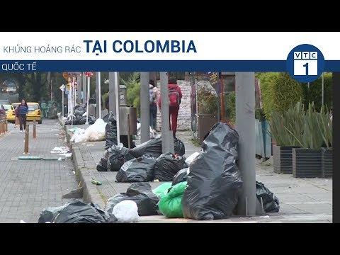 Khủng hoảng rác thải tại Colombia | VTC1 - Thời lượng: 82 giây.