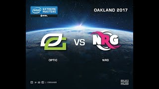 OpTic vs NRG - IEM Oakland 2017 US Quals - map1 - de_nuke [ceh9, Crystalmay]