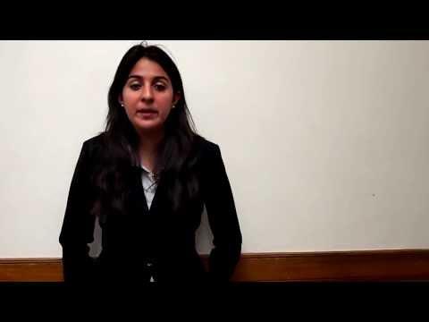 International Court of Justice - Maria Salamanca