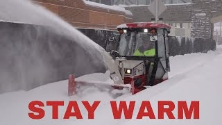 2. Winter Cab Overview for the Ventrac Sidewalk Snow Tractor