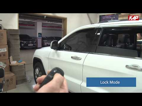Jeep Grand Cherokee Side Mirror lock folding