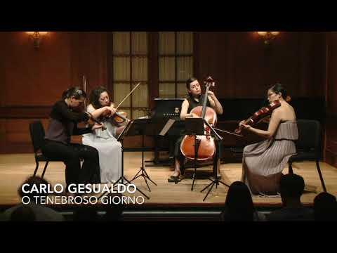 See video  Hildegard von Bingen & Carlo Gesualdo: Selections arr. Alex Fortes