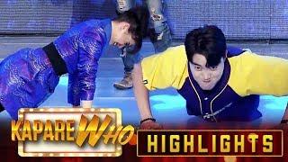 Ryan, Vhong, Jhong and Anne perform push-ups | It's Showtime KapareWho