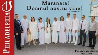 Botez Nou Testamental 01/07/2018 PM (Secretul evlaviei)